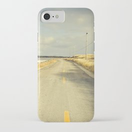 The Road to the Sea iPhone Case