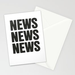 News News News Stationery Cards