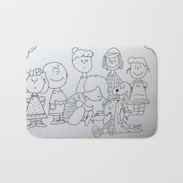 Peanuts Charlie Brown Bath Mat