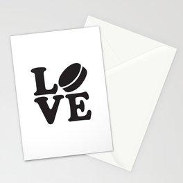 Love Hockey Stationery Cards