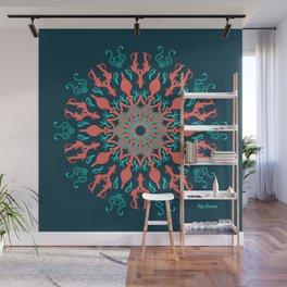 My Ocean Mandala Mode Wall Mural