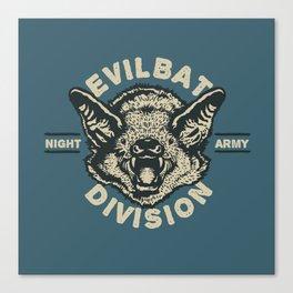 Evil Bat Division Leinwanddruck