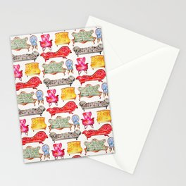 Victorian Lounge – Rainbow Palette Stationery Cards
