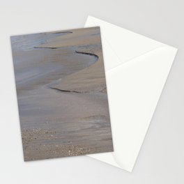 Cornwall Beach Photo or Frieze 1828 Rivulets Stationery Cards