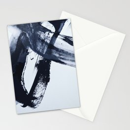 Ivory Black Stationery Cards
