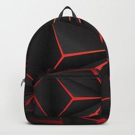 Futuristic Triangulation Backpack
