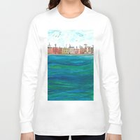 venice Long Sleeve T-shirts featuring Venice by Afriquita