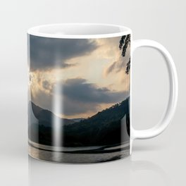 Shining Eye on the Sky Coffee Mug