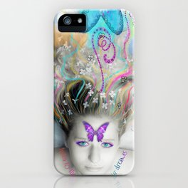 Listen to the Colour of Your Dreams iPhone Case