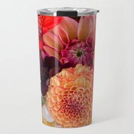 Floral and flower spring Travel Mug
