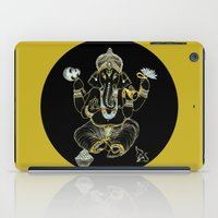 ganesha iPad Cases featuring GANESHA by Dianah B