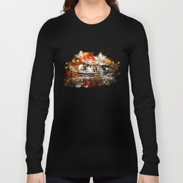 old ship boat wreck ws std Long Sleeve T-shirt
