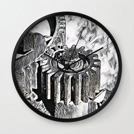 Gear wheel Wall Clock