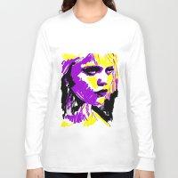 sky ferreira Long Sleeve T-shirts featuring Sky Ferreira by Simon Falk