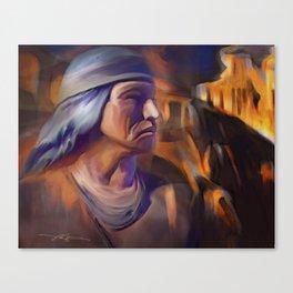 Apache Junction AZ / indian, native american, southwest, arizona Canvas Print
