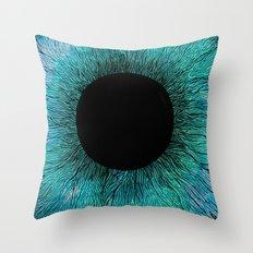 E Y E Throw Pillow