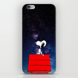 Snoopy Galaxy Nebula iPhone Skin