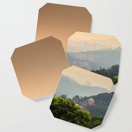 Chi Nan Temple in hills of Maokong, Taipei, Taiwan Coaster