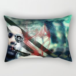 Abstraction, Distraction Rectangular Pillow