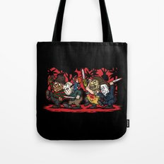 Where the Slashers Are (Full Color) Tote Bag
