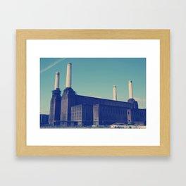 Battersea Power Station 3 Framed Art Print