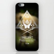 Inkclear ID Square iPhone & iPod Skin