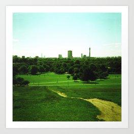Primrose Hill (5) Art Print