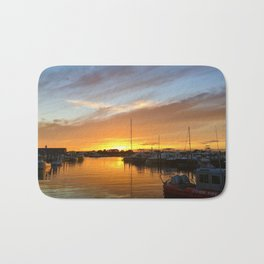 Sunset over Crosby's Bath Mat
