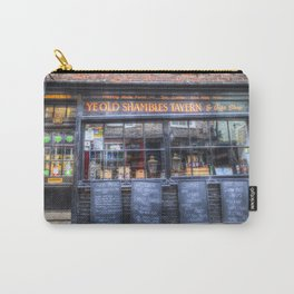 Ye Old Shambles Tavern York Carry-All Pouch
