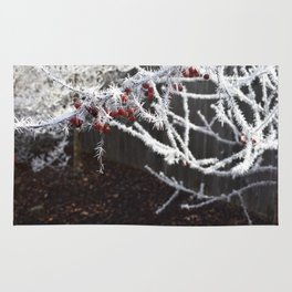 Frost Spiked Crabapple Tree Rug