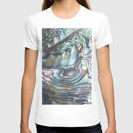 Shimmery Pastel Abalone Shell T-shirt