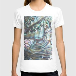 Shimmery Pastel Abalone Shell T-shirt
