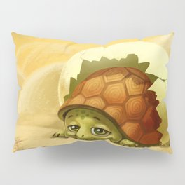 little turtle in the egg Pillow Sham