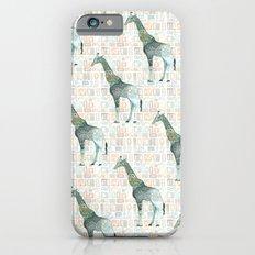 Menagerie Giraffe Slim Case iPhone 6s