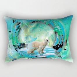 Northern Lights Rectangular Pillow