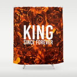 flowers 55 - king Shower Curtain