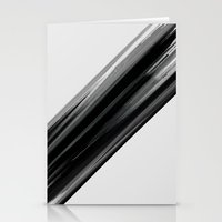 the strokes Stationery Cards featuring Strokes by TheSmallCollective