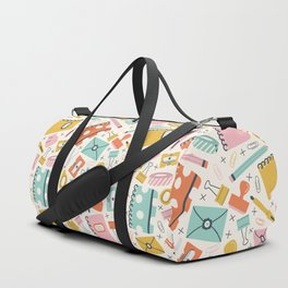 Stationery Love Duffle Bag
