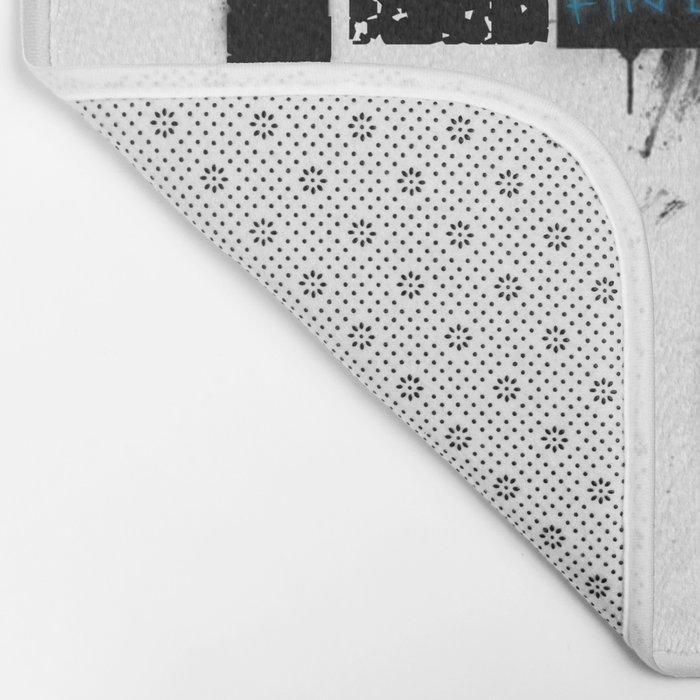 FindChaos - Logo Bath Mat