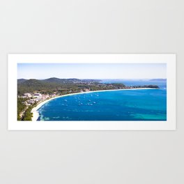 Shoal Bay, NSW, Australia Art Print