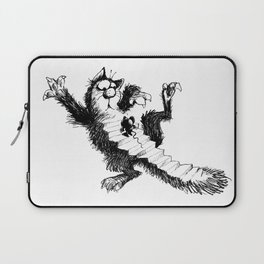 Cat and Mouse Art Laptop Sleeve