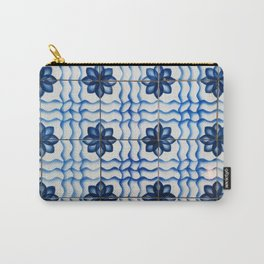 Pattern from the tile museum in Lisbon, Portugal Carry-All Pouch