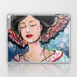 Myeko, La jeune Femme au Kimono Laptop & iPad Skin