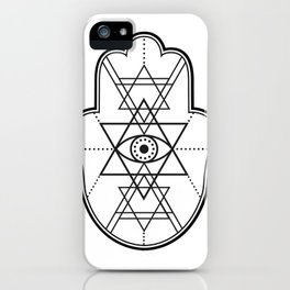 Hamsa #2 iPhone Case