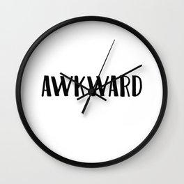 Awkward Wall Clock