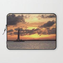 Key West sailing into Sunset Laptop Sleeve