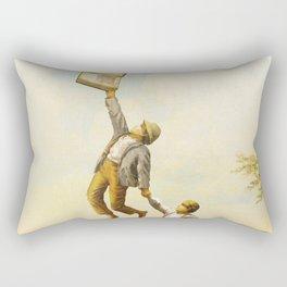 Taken Away Rectangular Pillow