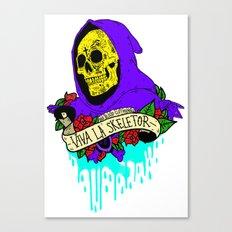 Viva La Skeletor Canvas Print