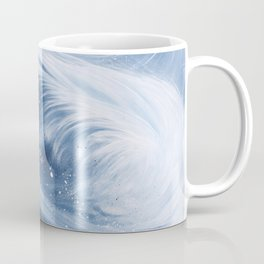 'Snowboarding Blue Blower' Coffee Mug