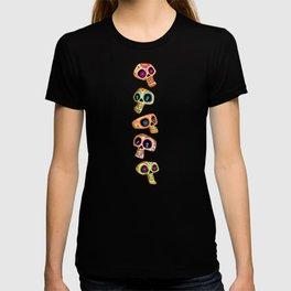 Calaveras del Día de los Muertos. T-shirt